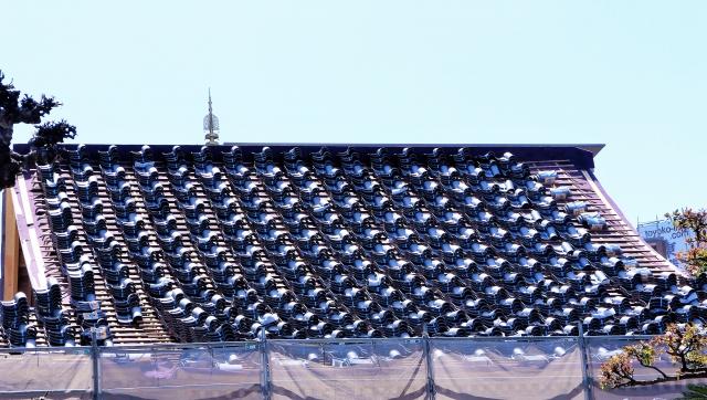 屋根吹き替え工事